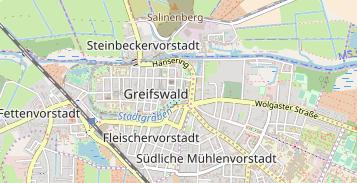 Greifswald Karte.Cowork Greifswald In Deutschland