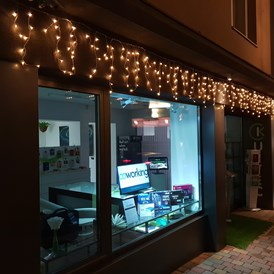Coworking Space: Weihnachtsbeleuchtung - Coworking Pongau - St. Johann im Pongau
