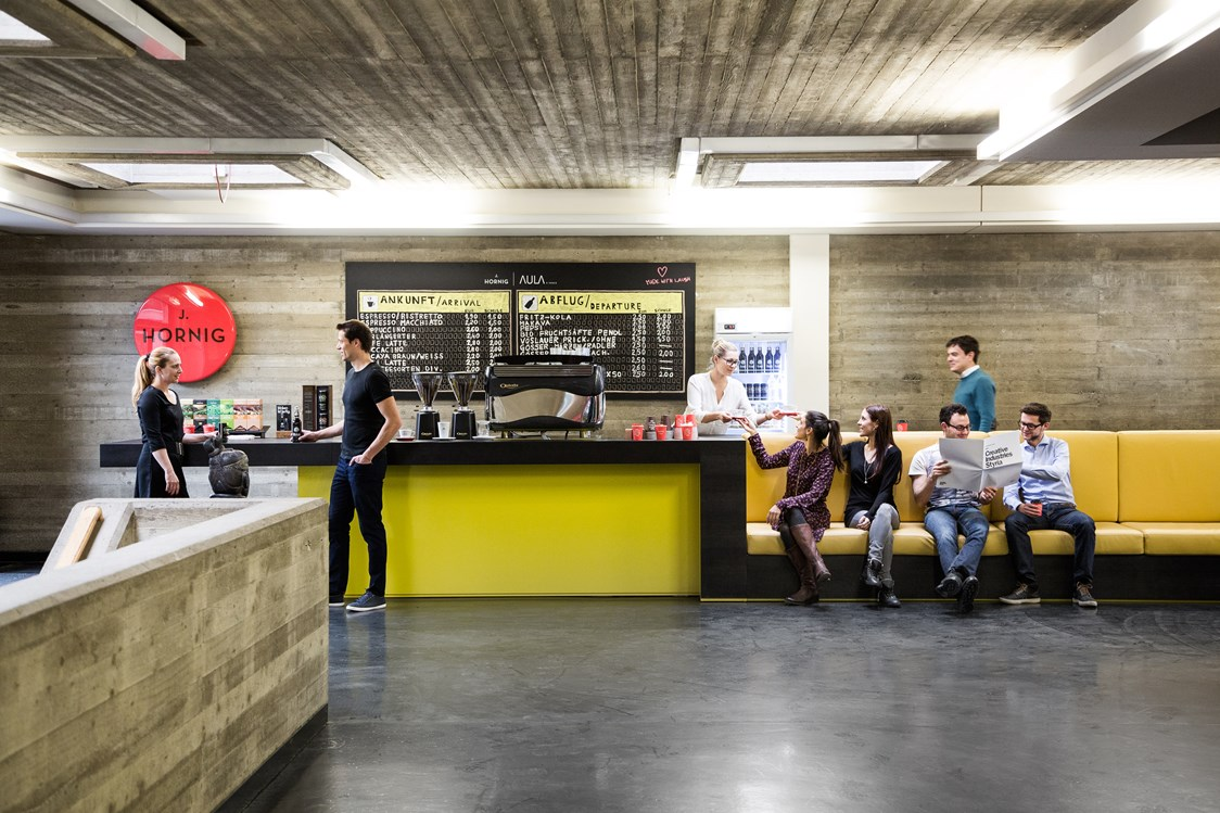 Coworking Space: J. Hornig Coffee Point - AULA x space - Coworking Space Graz