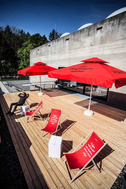 Coworking Space: AULA Sonnendeck - AULA x space - Coworking Space Graz