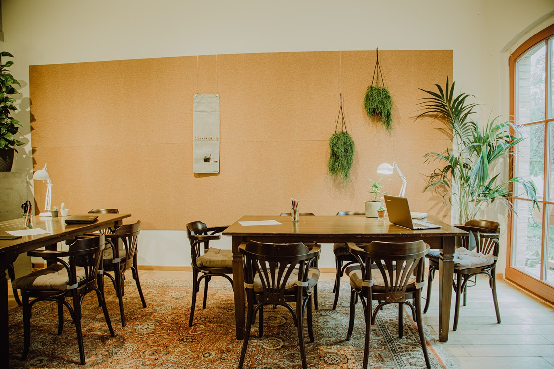 Coworking Space: Co Working & Vacation// Rittergut Damerow