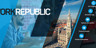 Coworking Spaces - München - WorkRepublic Business Center & Coworking
