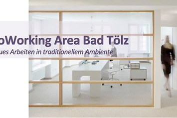 Coworking Space: CoWorking Area Bad Tölz