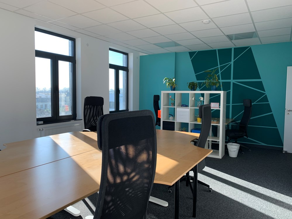 Coworking Space: Hot Desk/Shared Desk, Gemeinschaftsbüro - cde coworking