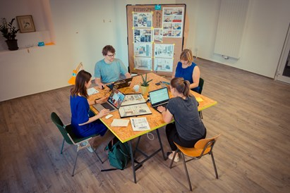 Coworking Space: Coworking - Impact Hub Ruhr - in Essen am Hbf