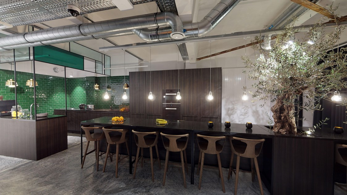 Coworking Space: Hygge Lounge Kitchen - Hamburger Ding